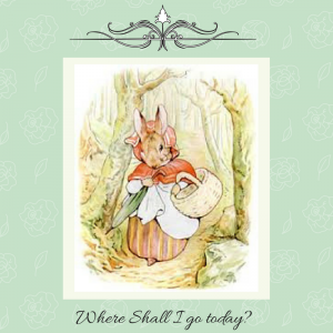 Mrs. Rabbit goes shopping - from The Project Gutenberg ebook of Peter Rabbit by Beatrox Potter.jpg