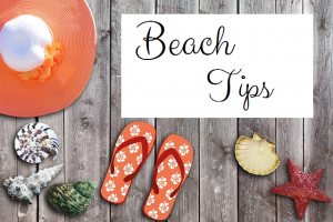 Beach Tips and September By the Sea Sale