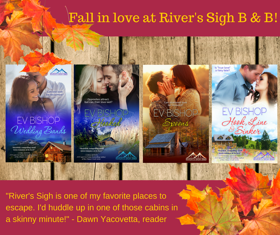 Fall in love at River's Sigh B & B this fall-Dawn Yacovetta quote image