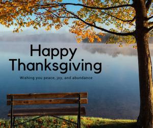 Happy Thanksgiving image.