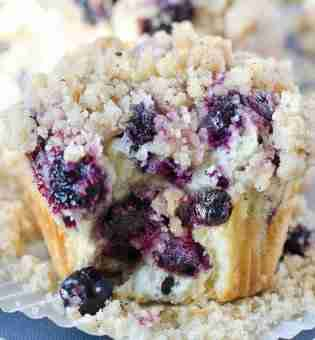 Toe-Curling Blueberry Muffin