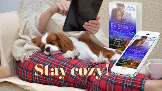 River's Sigh B & B box set. Stay cozy!